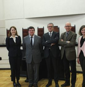 Visit of guests from UAntwerp